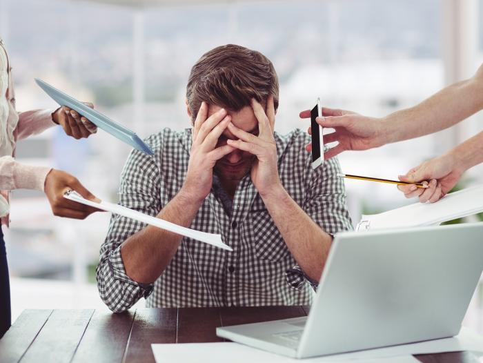 riesgos psicosociales y estres laboral